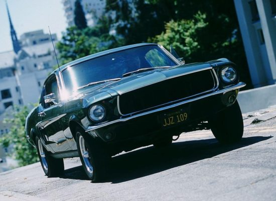 Cars & Movies: Ford Mustang Fastback GT 390 (1968) in «Bullitt»