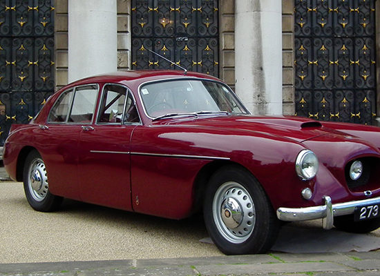 Cars & Movies: Bristol 405 (1955) in «An Education»