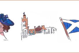 Edinburgh – Britische Perle unter Schottischer Flagge
