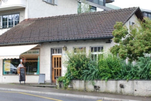 Tea Room Heinlein an der Bellevuestrasse 56 in Spiegel bei Bern.