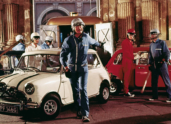 Cars & Movies: Mini Cooper S (1967) in «The Italian Job»