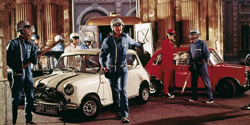 Cars Movies Mini Cooper S 1967 In The Italian Job Vintage Times