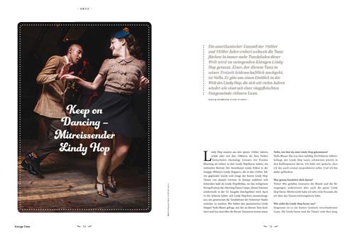 Lindy Hop Vorschau Ausgabe 1 2015 Vintage Times
