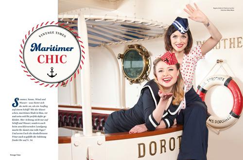 Maritimer Chic Vorschau Ausgabe 1 2015 Vintage Times