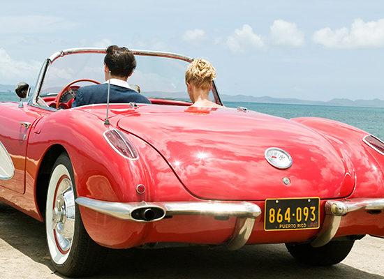 Cars & Movies: Corvette C1 (1959) in «The Rum Diary»