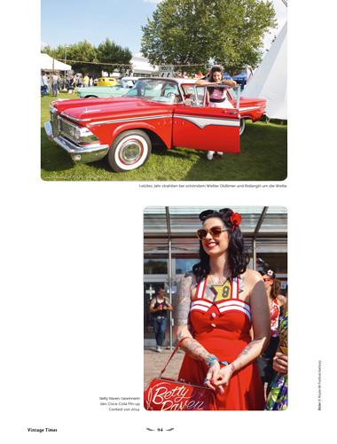 Route 66 Festival Aarburg Vorschau Ausgabe 1 2015 Vintage Times