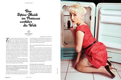 Zoe Scarlett Vorschau Ausgabe 1 2015 Vintage Times