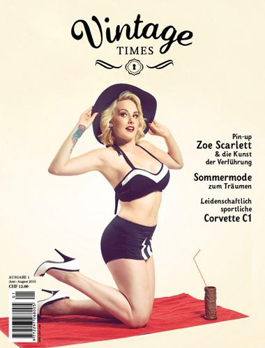 Cover Vintage Times Ausgabe 1 2015