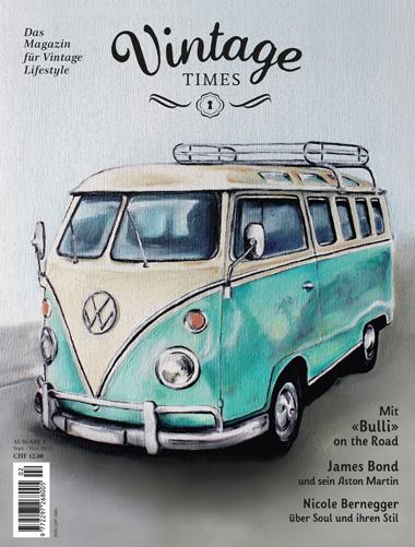 Cover Vintage Times Ausgabe 2/2015