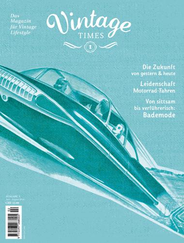 Cover Vintage Times Ausgabe 5 - 2016