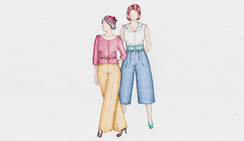 Klassiker neu entdeckt – Comeback von Marlene-Hose und Culotte