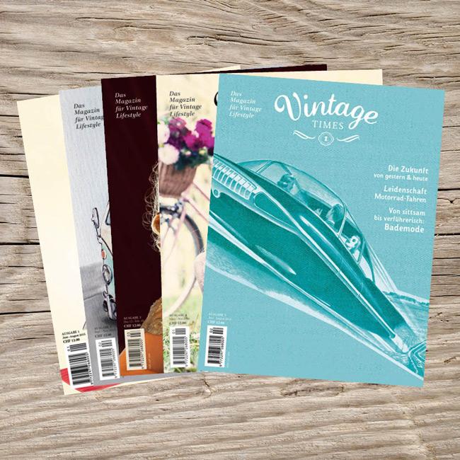 Vintage Times - Kombi Angebot 5 Ausgaben